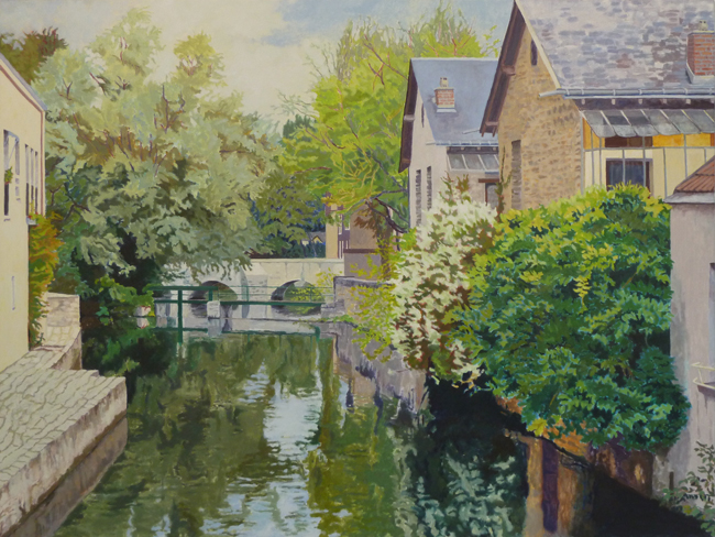 Small-Canal,-Chartres